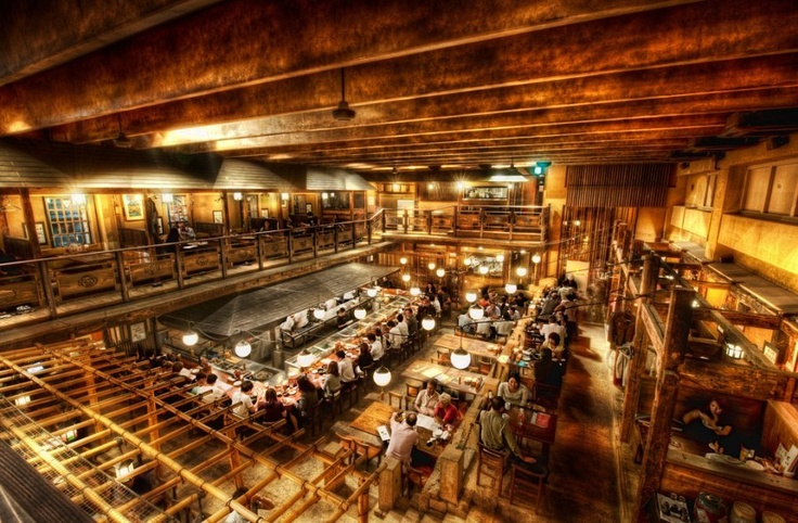 Gonpachi, The Restaurant in Tokyo that Inspired that crazy scene from Kill Bill by Trey Ratcliffe, stuckincustoms #Tokyo #Gonpachi #Kill_Bill #Trey_Ratcliffe