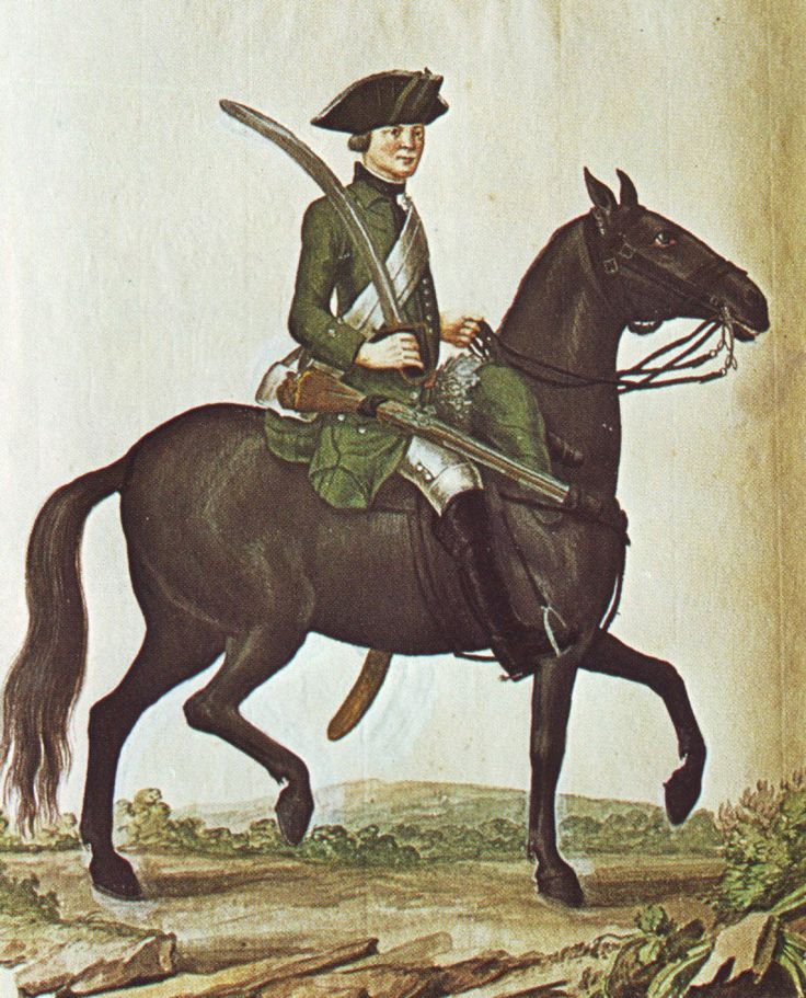 Hanover in the Seven Years War: Cavalry of Freytag's Jäger Corps by Karsten