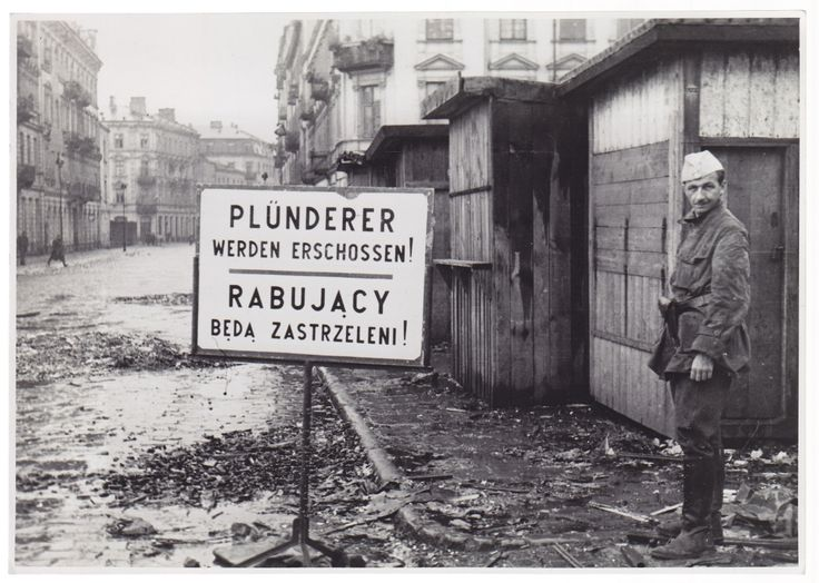 'Rob will be executed' Warsaw, august 1944