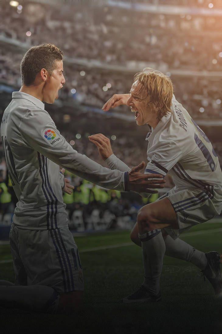 James Rodriguez Luka Modric Real Madrid Wallpaper by adi-149 ... e691fdc611bc9