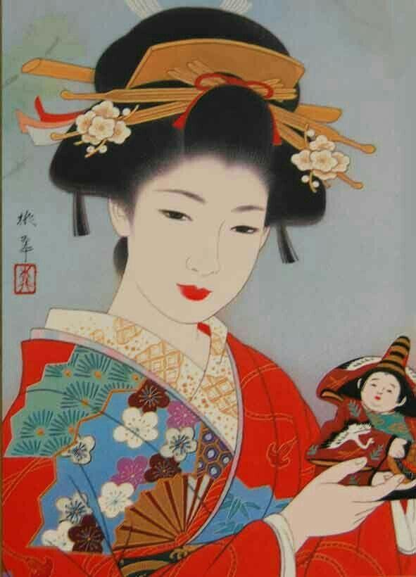 Portrait of a geisha… – #geisha #Portrait