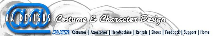 Action-Actors.com - Custom Costume Designs and Rentals