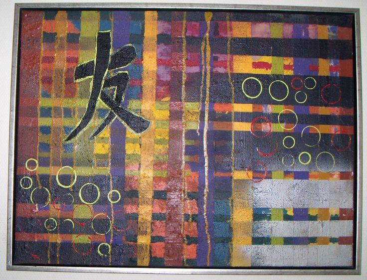 Akrylmaleri 60 x 80