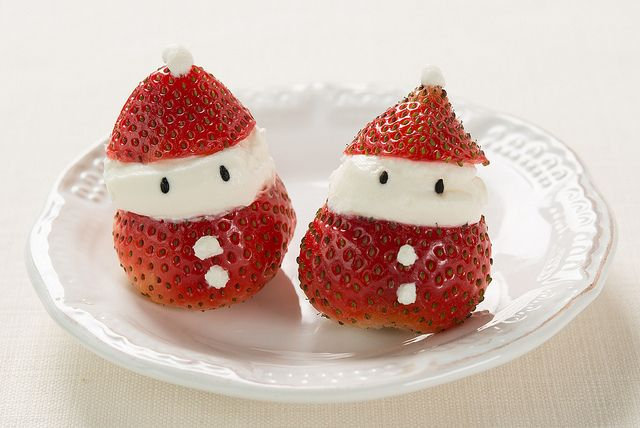 Strawberry Santa Clause by yumenokizaka, via Flickr