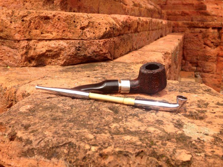 Kiseru with Higrain pipe kings wood
