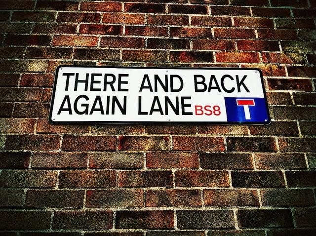 Unusual street name in Bristol by idleformat, via Flickr