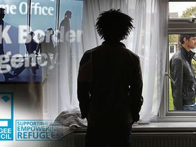 A HUGE majority of asylum applications made in the UK are made by adult males, a refugee charity has said.