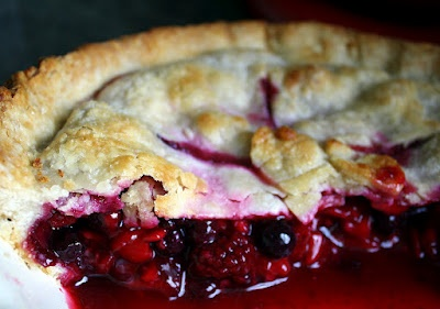 Bumbleberry Pie - a bubbly, juicy, gorgeously fruit-packed dessert.