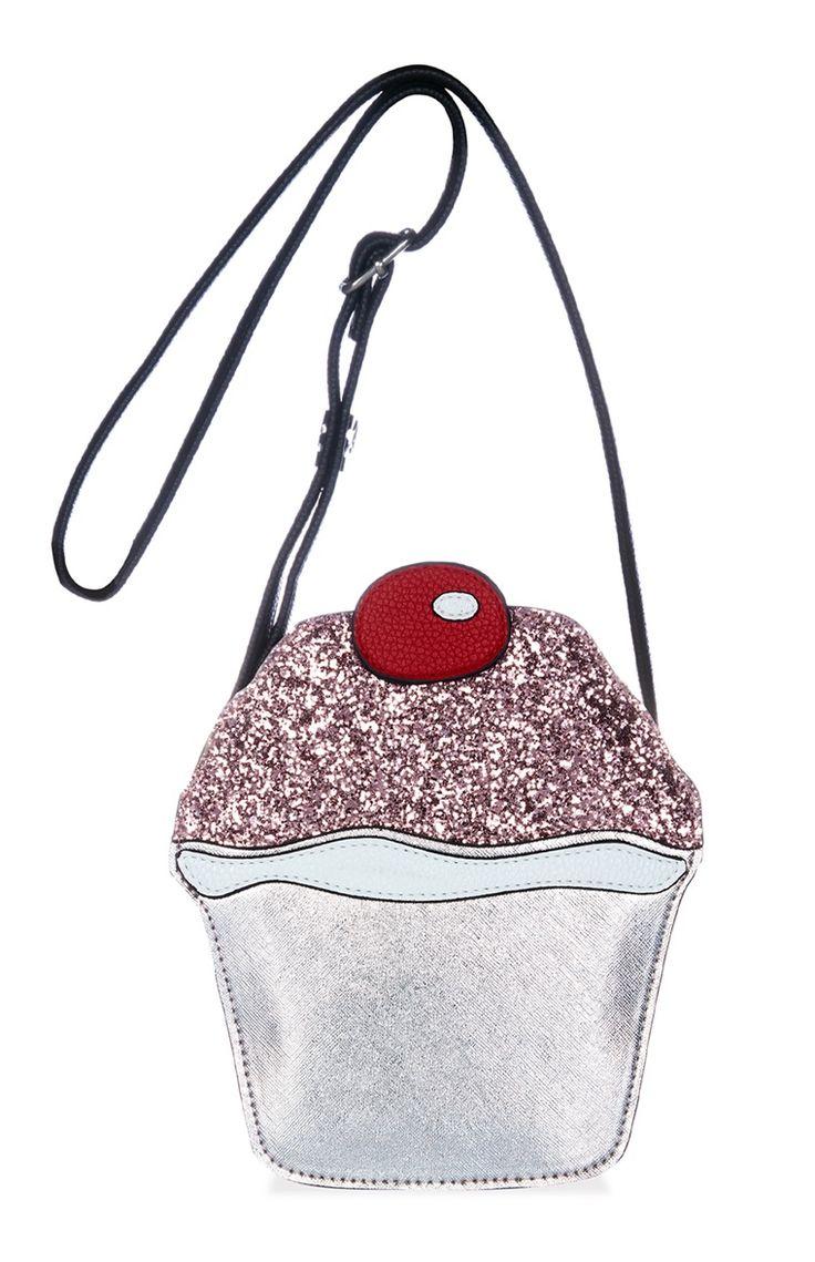 Bolso con forma de cupcake