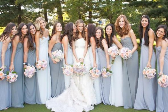 Charcoal Gray Bridesmaids Dresses What Color Shoes Weddingbee Faithfully Wed Pinterest Grey Bridesmaid And