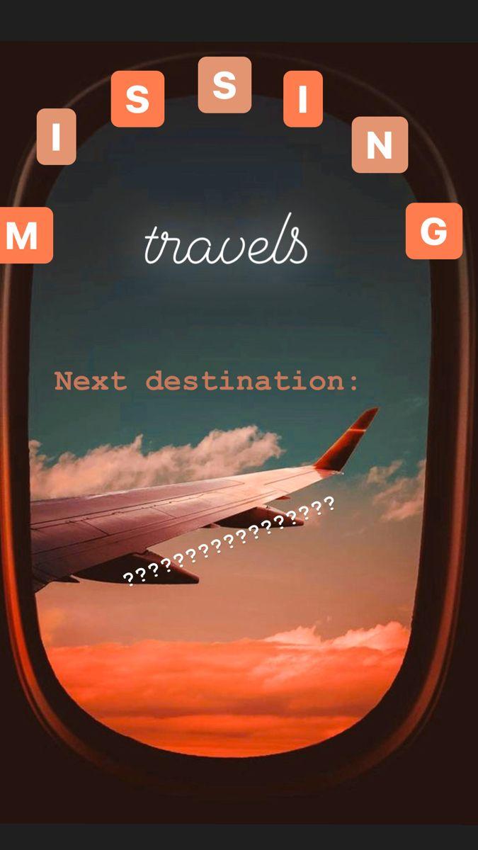Travel Stor Idea Instagram Story Instagram Insta Story