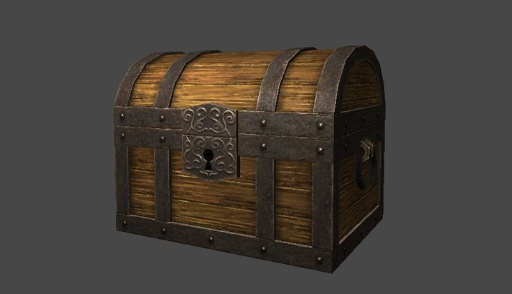 Asset Store - Classic Treasure Box