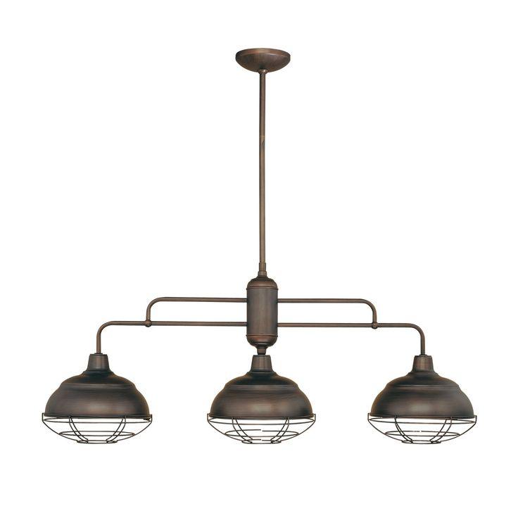 industrial lighting pendants. lowes millennium lighting 5313 3 light neoindustrial island as pendants thatu2026 industrial i