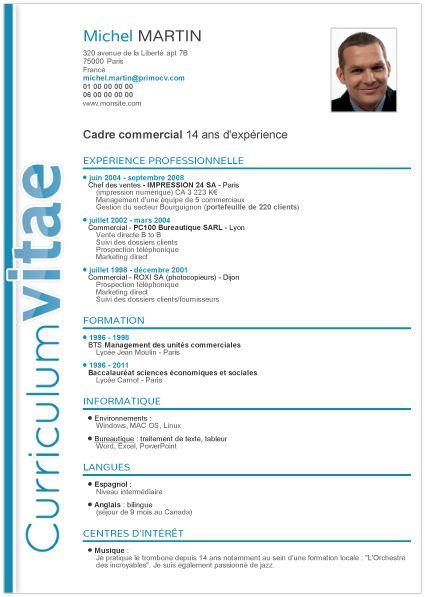 Best 25 Curriculum Vitae Exemple ideas – Curriculum Vitae
