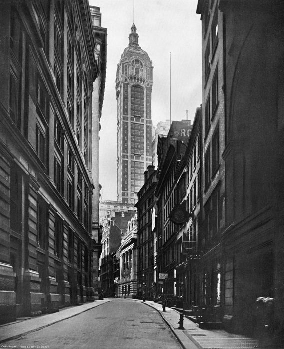 The Singer Building, c. 1908. NYC