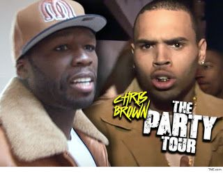 50 Cent I Did Not Sign Any Chris Brown's Tour   50 Cent's sudden absence from Chris Brown's tour promos is all about a huge money gap between 50's camp and the promoter behind Chris' tour .. TMZ has learned. Sources connected to the tour tell us Fiddy was all in to be the lead guest on The Party Tour after initial talkswith Breezy's camp where both sides agreed on his fee for the gig. We're told Live Nation -- the company putting on the show -- also assumed 50 was in and began putting his…