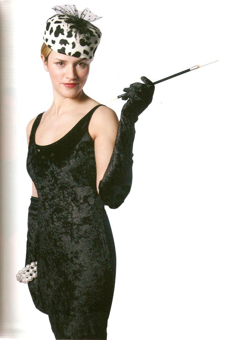 Disfraz chica Audrey Hepburn, Desayuno con diamantes