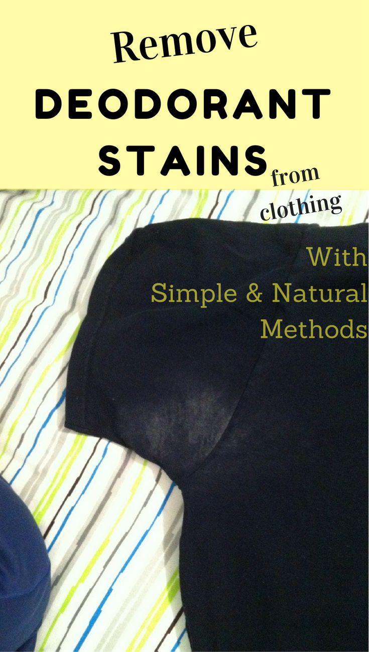 25 beste idee n over deodorantvlekken verwijderen op for How to get deodorant stains out of shirts quickly