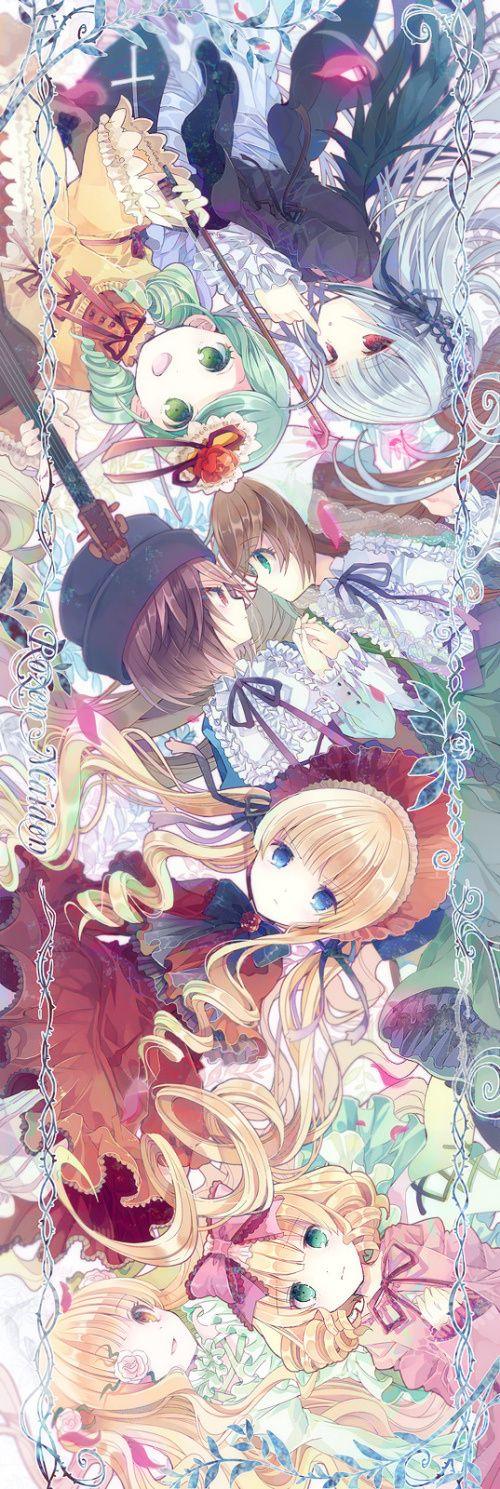 Rozen Maiden... Un buen anime.