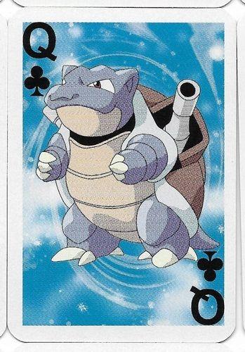 Pokemon Blastoise Mini Playing Card Nintendo 3291-009