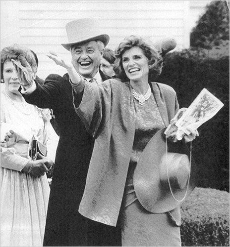 Eunice & husband Sargent Shriver