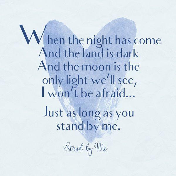 lyrics song romantic quotes stand songs king ben always livingly lyric ll sayings mom slideshow start
