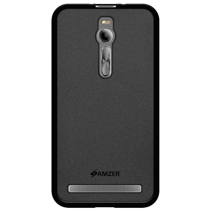 Amzer® Pudding TPU Case - Black  for Asus Zenfone 2