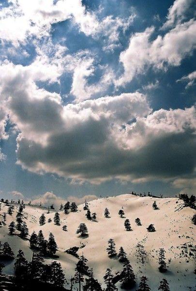 Mount Mavrovouni at the National Park of Valia Kalda, in Ioannina, Epirus  Greece