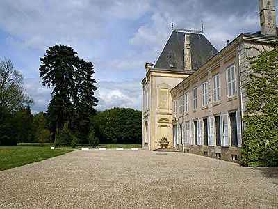 French Chateau for sale in 18 - Cher , Val de Loire France. Situated in the Berry near Bourges, this lovely Château dates from the 18th and 19th Cs and is in good general condition. It stands in magnificent wooded grounds of 17 ha with numerous outbuildings including a 3-bedroomed caretaker's house and a chapel. The property is situated a few kms from shops and services, 20 mins from an SNCF station and 20 mins from the A71 motorway.