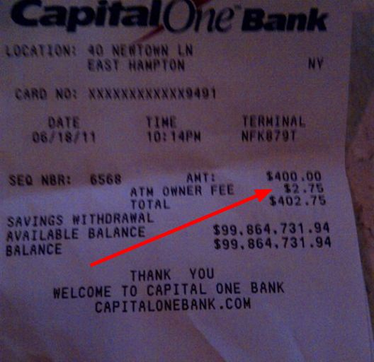 Billionaire Forced To Pay $2.75 ATM Fee In East Hampton - Bank Fees - Curbed Hamptons