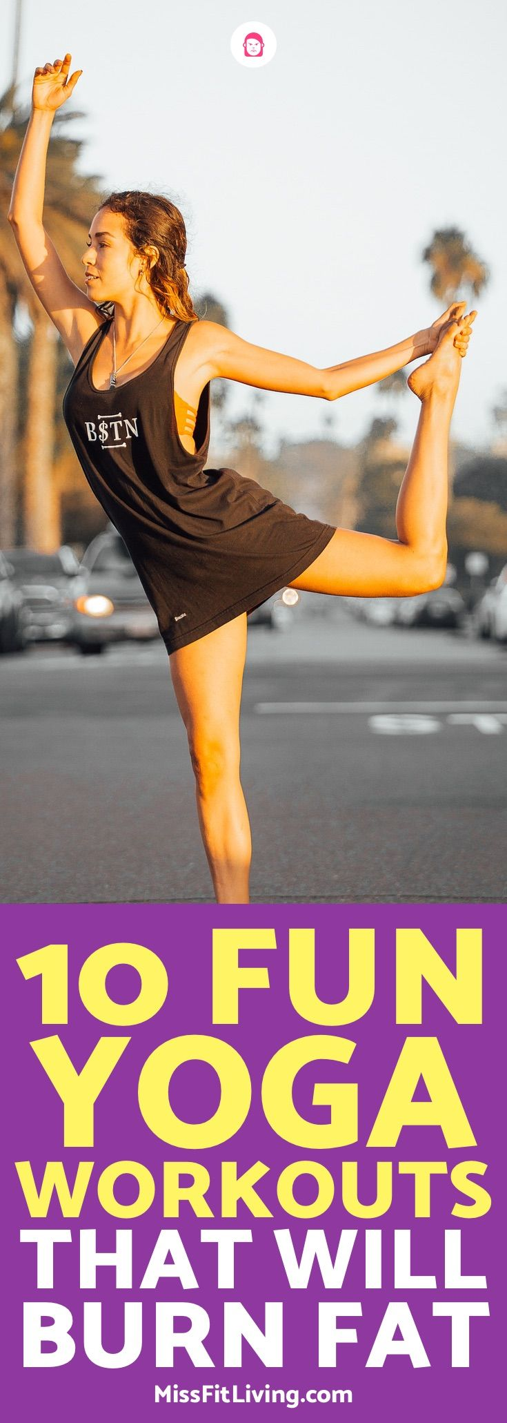 Can you lose weight doing yoga? You sure can and here are 10 yoga workouts to he...