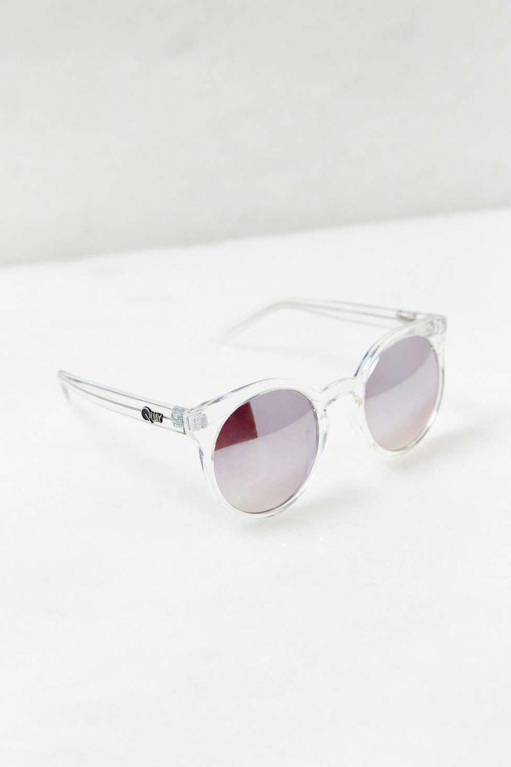 Quay Kosha Sunglasses in Clear
