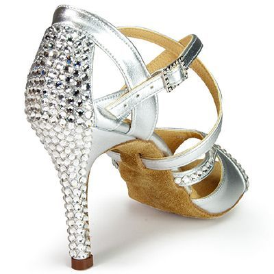 IDS International Dance Shoes Bianca Crystal