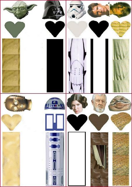 Star Wars. Free Printable Candy Wrappers. | Gifts ...