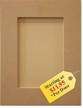 Replacement Kitchen Cabinet Doors Mdf Shaker Style 11 95