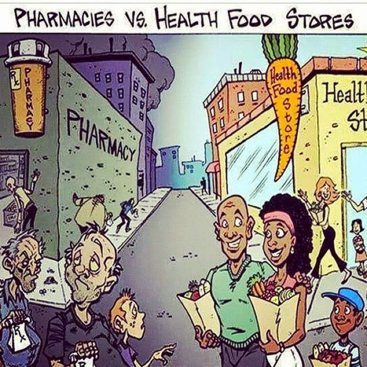 pharmacy vs health food store