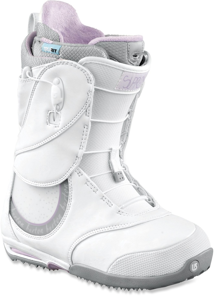 Burton Supreme Snowboard Boots. You can put heater in them!