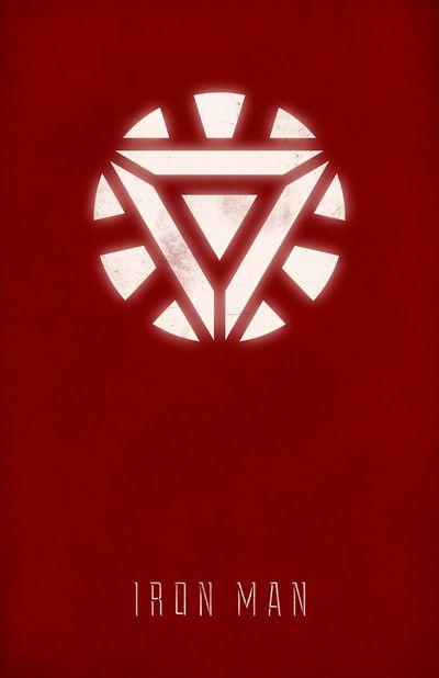 Iron Man ~ The Avengers (2012) ~ Minimal Movie Poster by Andrea Nguyen #amusementphile