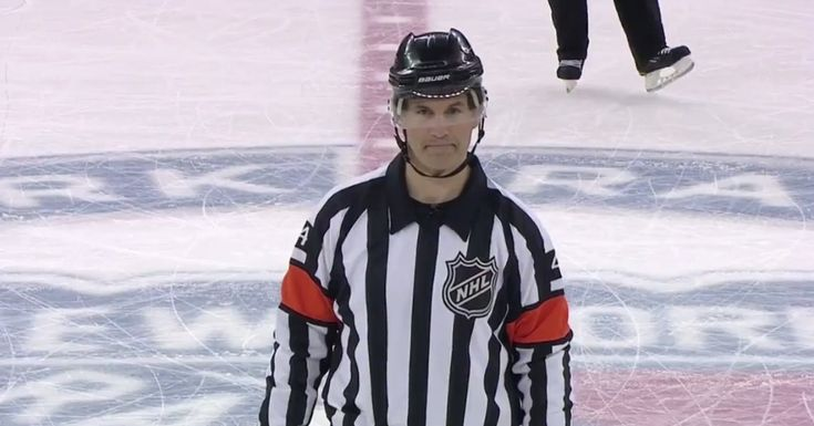 Everyone's favorite NHL referee is back with another suspenseful call - SB Nation