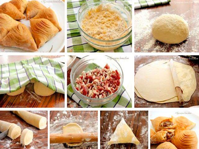 Рецепты и Блюда: СЛОЕНАЯ САМСА (НАСТОЯЩАЯ, УЗБЕКСКАЯ)