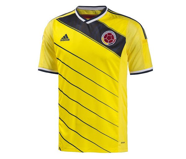 Colombia 2014 World Cup Home Shirt (Official)