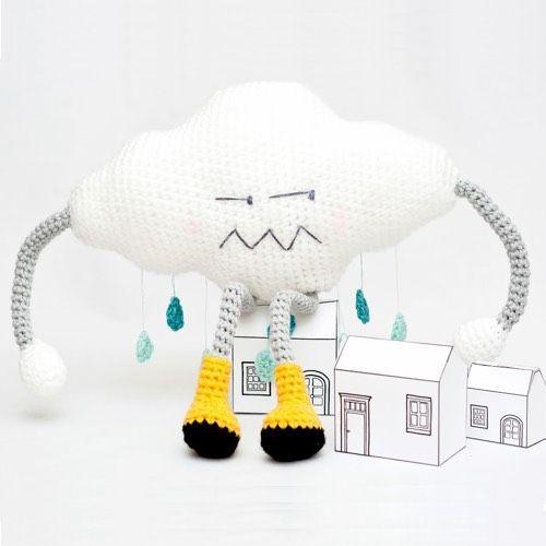 Patrón Nube Amigurumi