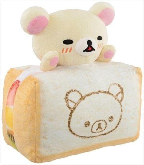 New! Korilakkuma Fruits Sand Plush Doll Stuffed Rilakkuma 30cm San-X Japan F/S #SanX