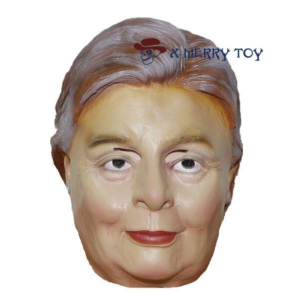 Funny Halloween Mask - Hillary Clinton - Latex