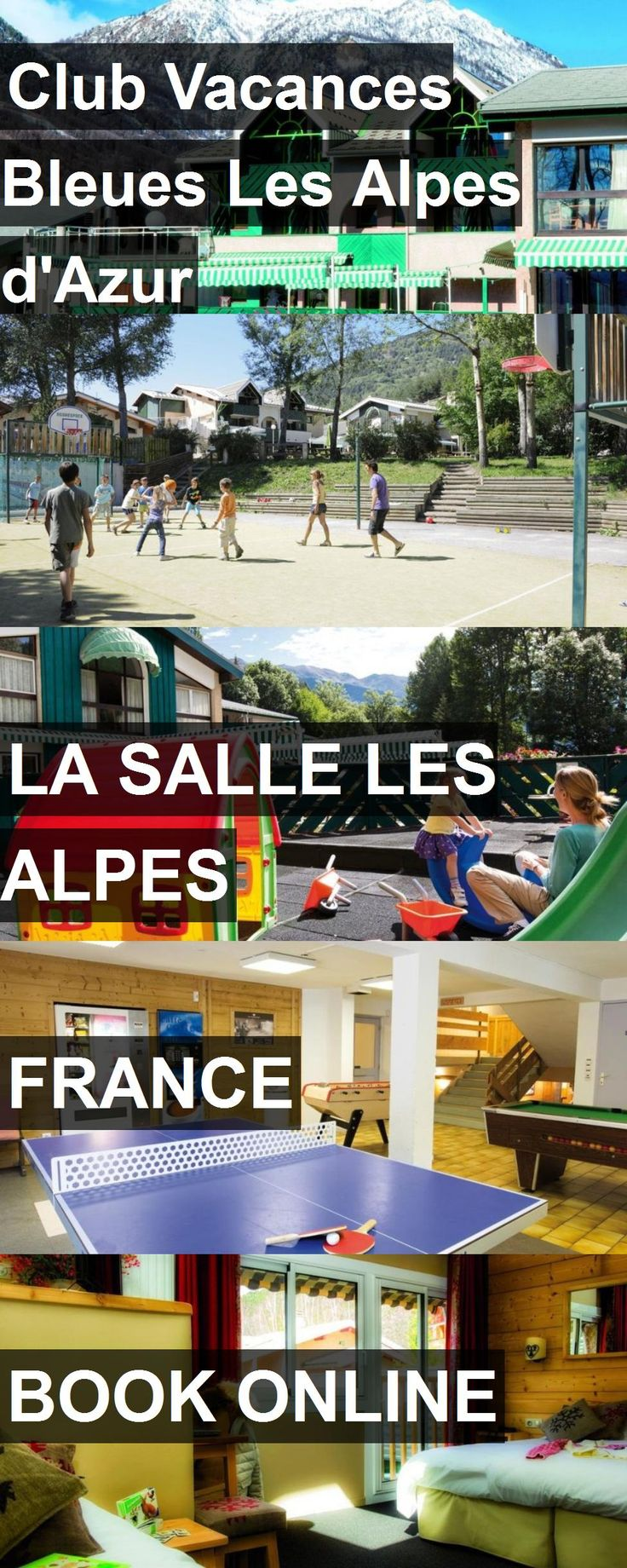 Hotel Club Vacances Bleues Les Alpes d'Azur in La Salle les Alpes, France. For more information, photos, reviews and best prices please follow the link. #France #LaSallelesAlpes #travel #vacation #hotel