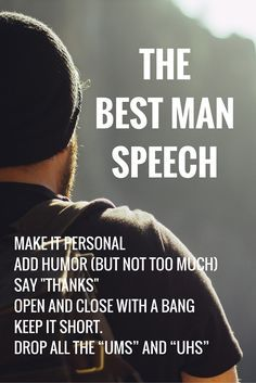 Despite what most people would say in public, the best man speech is the main event in the wedding speech circus at a wedding. Read more at http://www.topweddingsites.com/wedding-blog/guides-wedding-tools/ready-set-deliverthe-best-wedding-speech-or-toast-ever