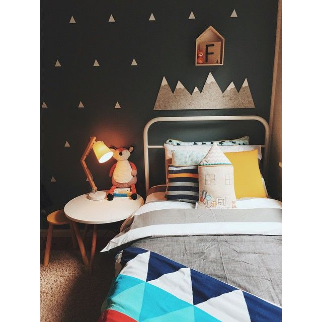 My little Finn's room has been a bit neglected since we put the boys back into separate rooms. I always got a bit stumped with the space, but I switched a few things around and popped some new bedding on today and it's a lovely little haven for him. @willowandwood @kmartaus @littlevillagehandmade @stylishkids_kmart @the_kmart_forecast @vividwalldecals #kmartaddictsunite #AustralianKidsRooms #bondvilleblog #kmartausshare
