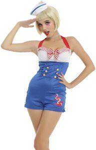 Women's Sailor Halloween Costume
