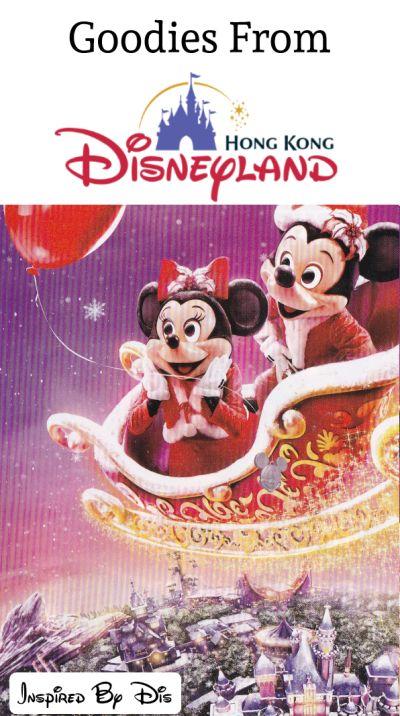 Treats and Maps from Hong Kong Disneyland // Inspired By Dis