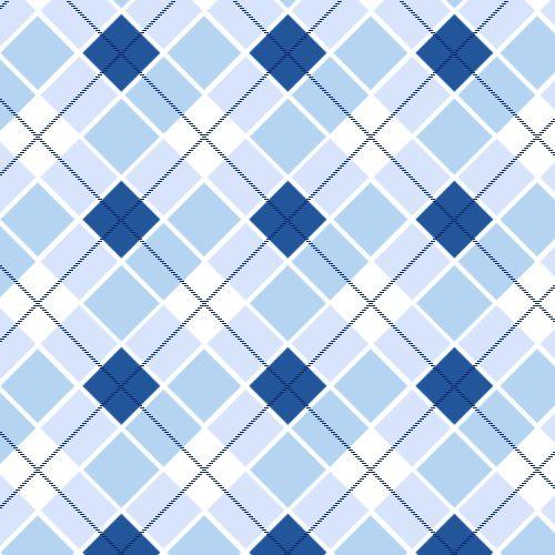 Blue seamless plaid pattern.
